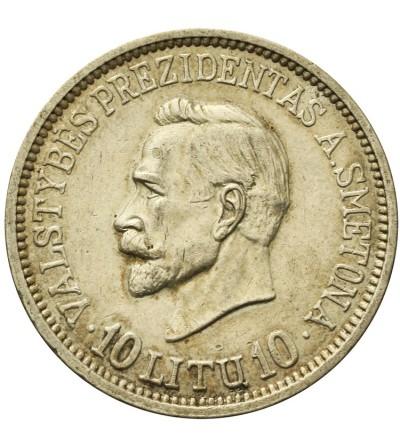 Litwa 10 litów 1938, Smetona