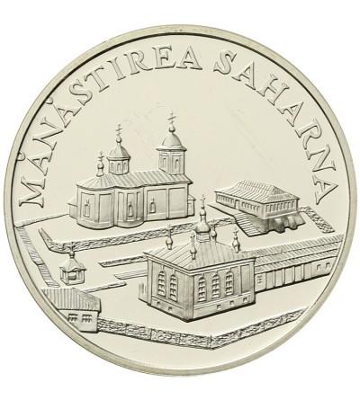 Moldova 50 lei 2000, Monastery Saharna