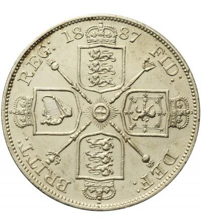 Great Britain 2 florin 1887