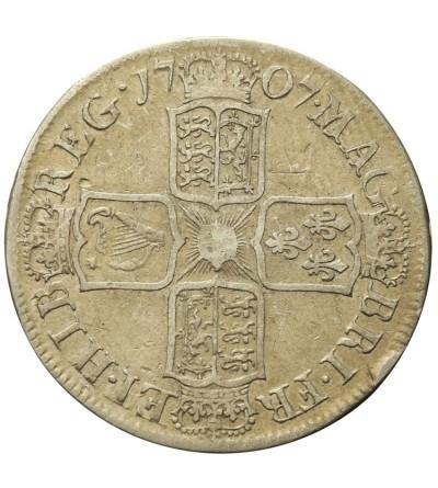 Great Britain 1/2 Crown 1707 E. Sexto