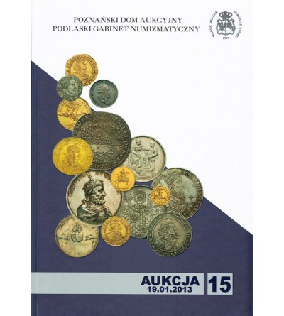 Katalog aukcyjny PDA&PGN Aukcja nr 15 - 19.01.2013 r.