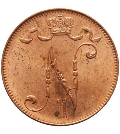 Finlandia 5 pennia 1914