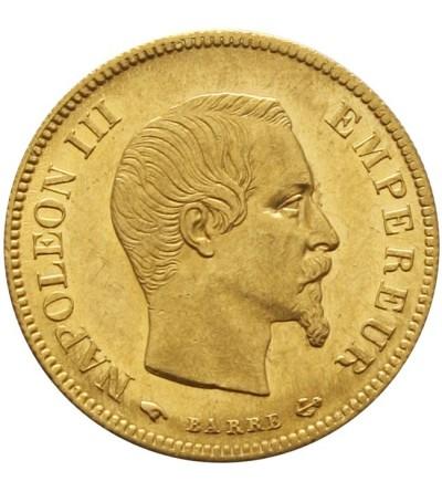 Francja 10 franków 1856 A