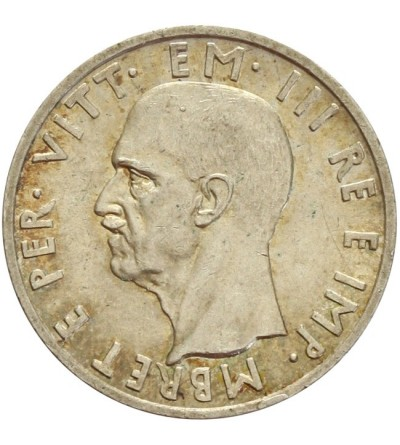Albania 5 lek 1939 - włoska okupacja