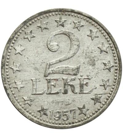 Albania 2 leke 1957