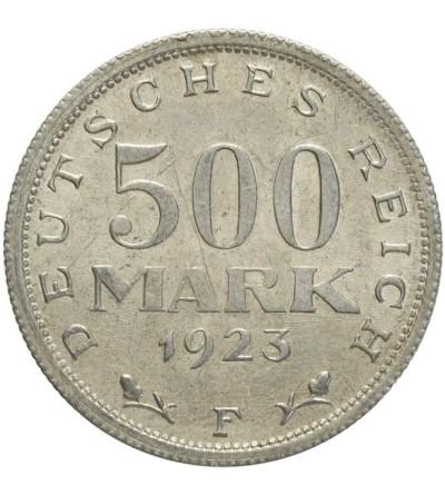 Weimar 500 marek 1923 F