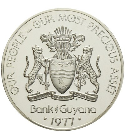 Gujana 10 dolarów 1977