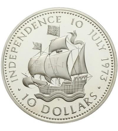 Wyspy Bahama 10 dolarów 1973