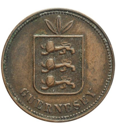 Guernsey 4 doubles 1868