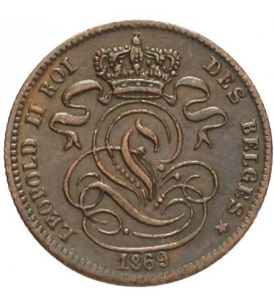 Belgia 1 centime 1869