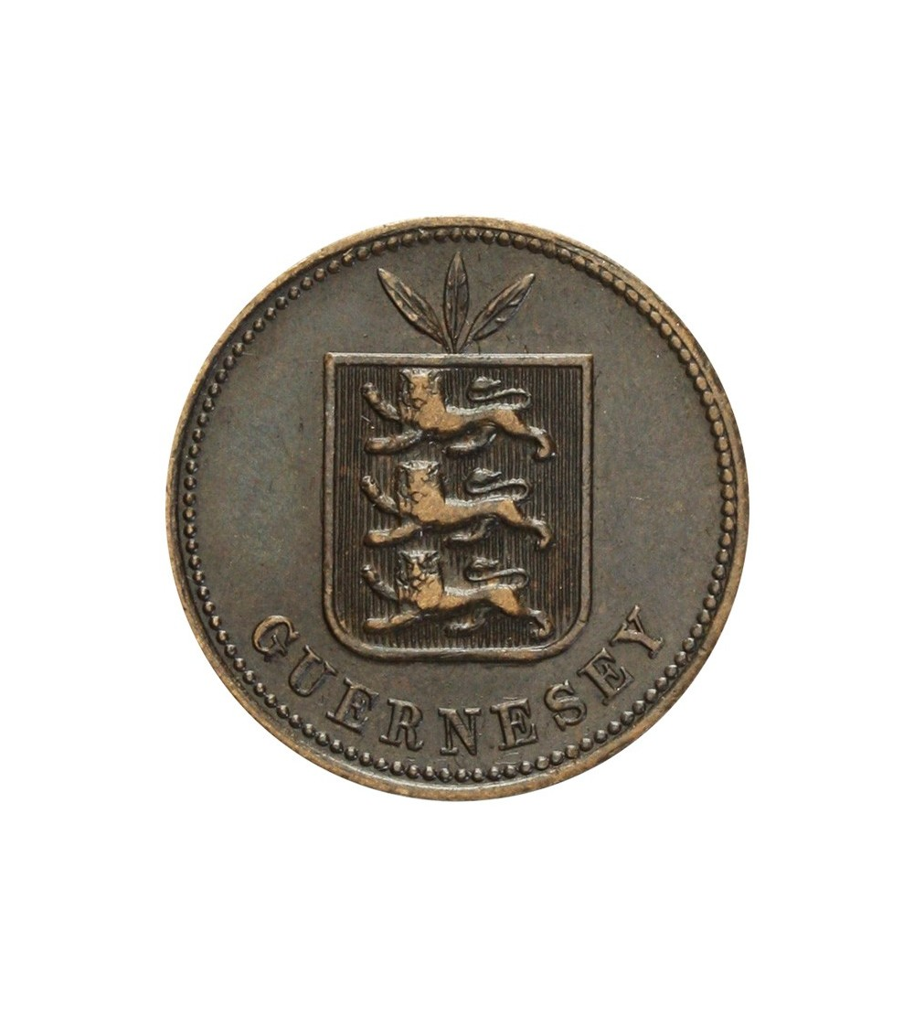 Guernsey 2 doubles 1885