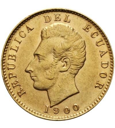 Ekwador 10 sucres 1900