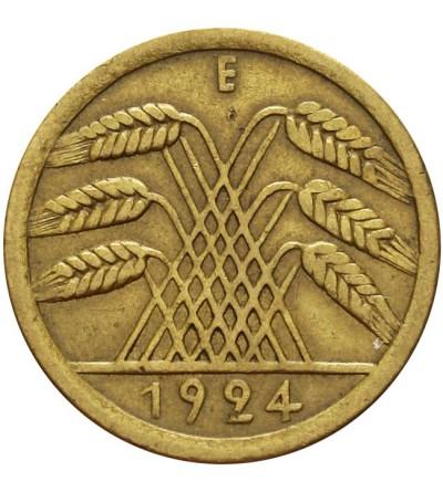 Weimar 50 Rentenpfennig 1924 E