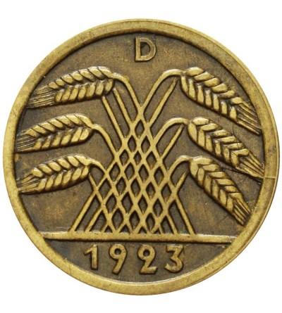 Weimar 50 Rentenpfennig 1923 D