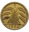 Weimar 5 Reichspfennig 1926 E