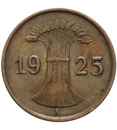 Weimar 1 Reichspfennig 1925 A