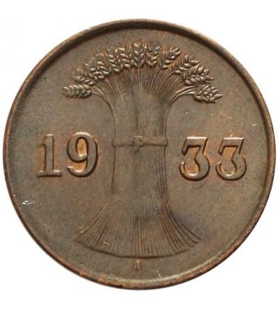 Weimar 1 Reichspfennig 1933 A