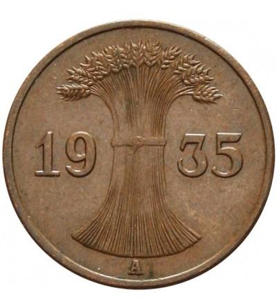 Weimar 1 Reichspfennig 1935 A