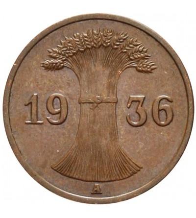 Weimar 1 Reichspfennig 1936 A