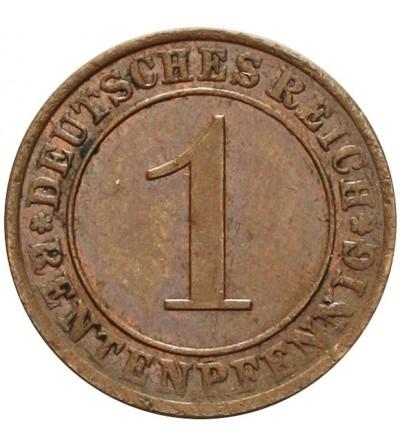 Weimar 1 Rentenpfennig 1923 A