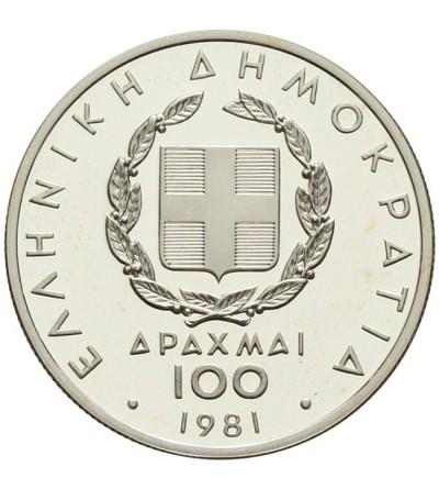 Greece 100 drachmai 1981