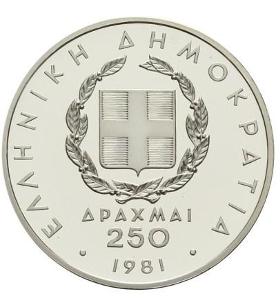 Grecja 250 drachm 1981