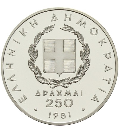 Greece 250 drachmai 1981
