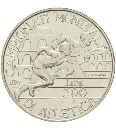 Włochy 500 lire 1987