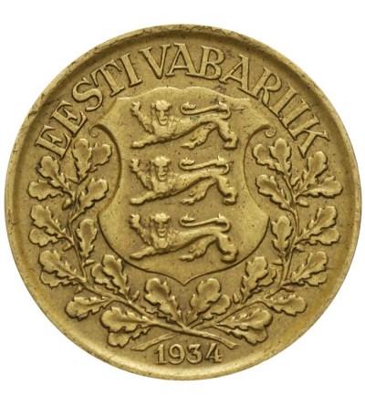 Estonia 1 marka 1934