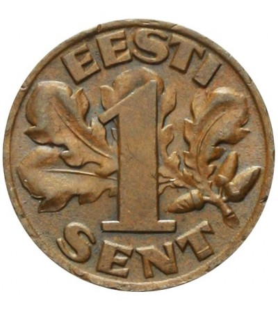 Estonia 1 sent 1929