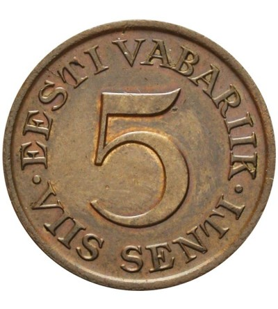 Estonia 5 saniti 1931
