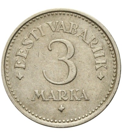 Estonia 3 marki 1922