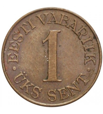 Estonia 1 sent 1939
