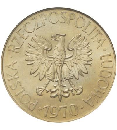 PRL 10 złotych 1970, Kościuszko, GCN MS63