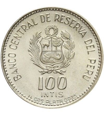 Peru 100 intis 1986