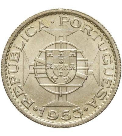 Wyspy Zielonego Przylądka 10 escudo 1953