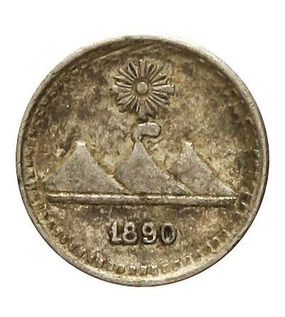 Gwatemala 1/4 real 1890
