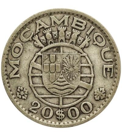 Mozambik 20 escudos 1960