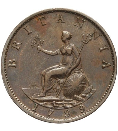 Wielka Brytania 1/2 penny 1799