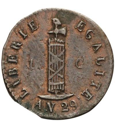 Haiti 1 centime 1832 / AN 29