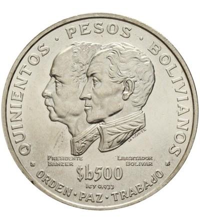 Boliwia 500 pesos bolivianos 1975