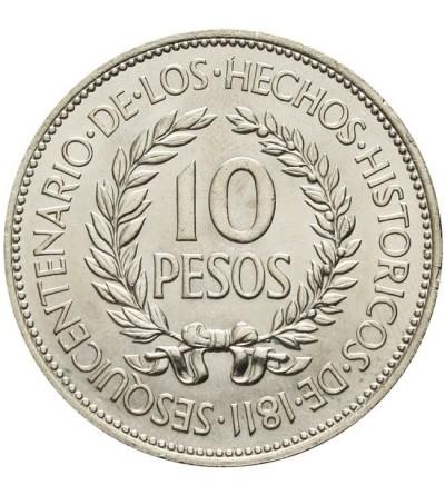 Urugwaj 10 pesos 1961