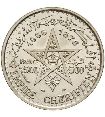 Maroko 500 franków 1956