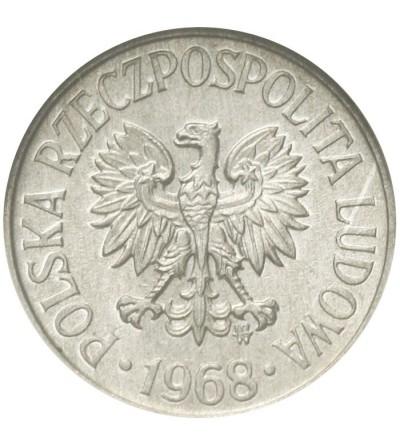 PRL 5 groszy 1968, GCN MS66