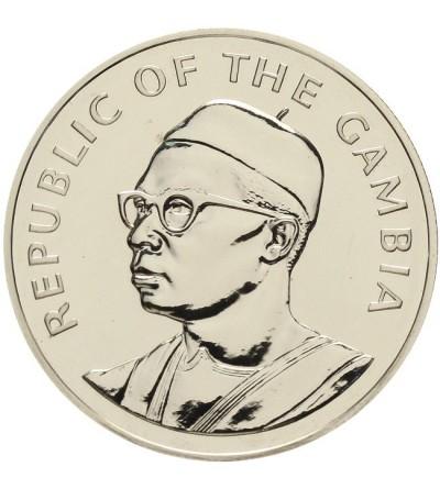 Gambia 10 dalasis 1975