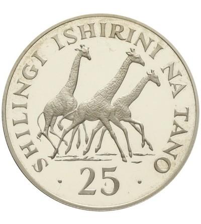 Tanzania 25 szylingów 1974
