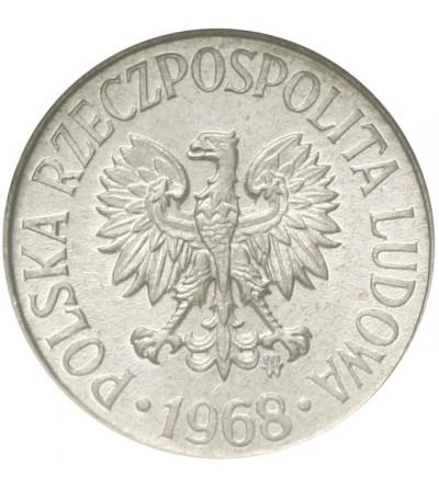 PRL 5 groszy 1968, GCN MS65