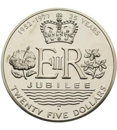 Wyspy Cooka 25 dolarów 1977