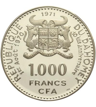 Dayomey 1000 francs 1971