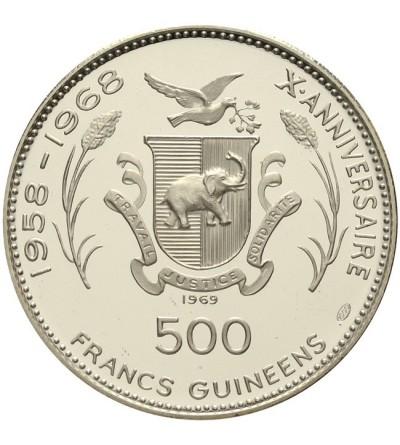Guinea 500 francs 1969